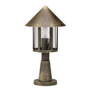 Albert Leuchten Sloupkové svítidlo Lampione, hnědá mosaz
