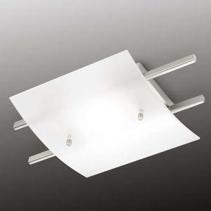 Knapstein Marie LED stropní svítidlo satinované stínidlo