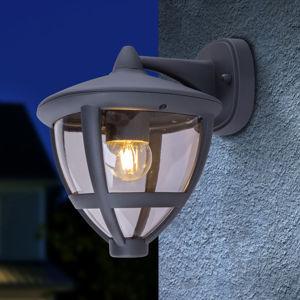 Globo Nollo venkovní lucerna se světlem dolů, IP44 černá