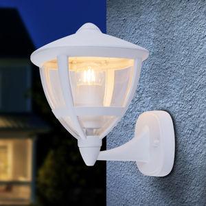 Globo Nollo venkovní nástěnné světlo stojací, IP44 bílá