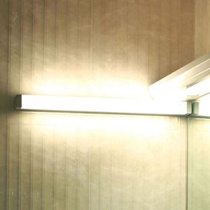 G & L HANDELS GMBH LED nástěnné světlo 512106 pro zrcadlo, stříbrné