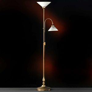 FISCHER & HONSEL Stojací lampa Antwerpen se světlem na čtení