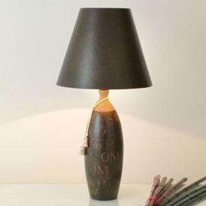 J. Holländer Stolní lampa Carattere Alta v tenkém tvaru