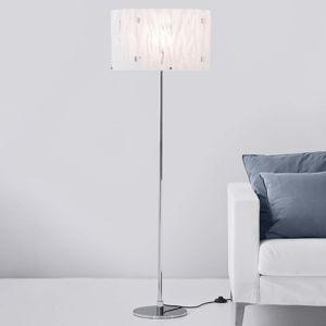 Herstal Stojací lampa Grass s bílým akrylovým stínidlem