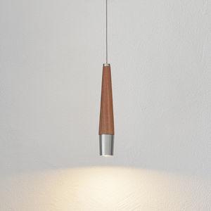HerzBlut HerzBlut Conico LED závěsné světlo ořech, 1 zdroj