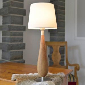HerzBlut HerzBlut Lara stolní lampa dubové dřevo, 61cm