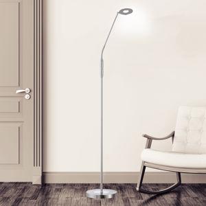 FISCHER & HONSEL LED stojací lampa Dent, CCT, jeden zdroj, nikl