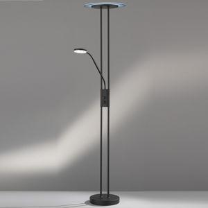 FISCHER & HONSEL LED stropní lampa Fluente, CCT, čtecí světlo, nikl