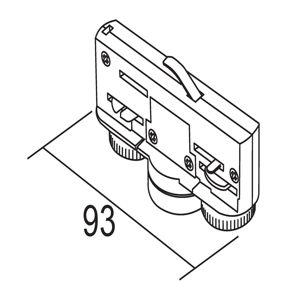 IVELA Ivela adaptér 3fázový 220-240V 10kg, bílá