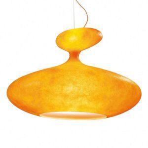 Kundalini Kundalini E.T.A. Sat objemné závěsné světlo oranž