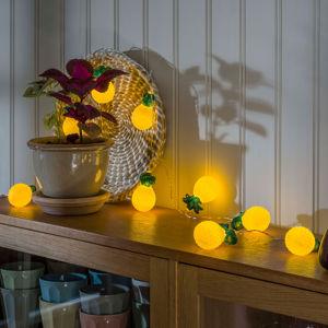 Konstmide SEASON LED světelný řetěz ananas, na baterie