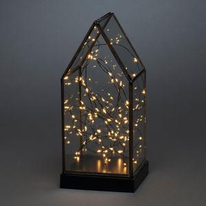 Konstmide CHRISTMAS LED dekorativní světlo lucerna, 80 žár, baterie