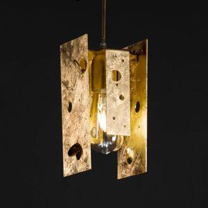 Knikerboker Knikerboker Buchi závěsné světlo 11x11x23cm zlato
