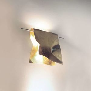 Knikerboker Knikerboker Stendimi LED nástěnné světlo pozlátko