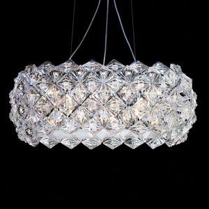 PATRIZIA VOLPATO Závěsné světlo Prisma v oválném tvaru