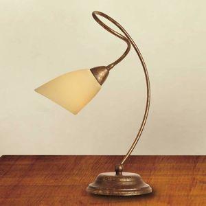 Lam Stolní lampa Alessandro antická hnědá
