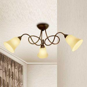 Lam Třízdrojové stropní světlo Michele venkovský styl