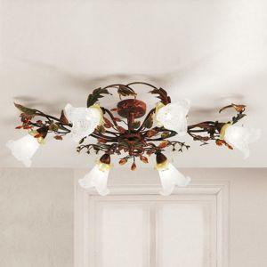 Lam Šestizdrojové florentinské stropní světlo Zarah
