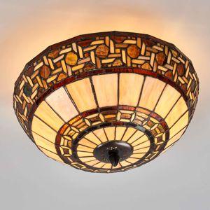 Clayre & Eef Wilma - stropní světlo v Tiffany stylu