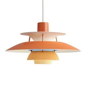 Louis Poulsen Louis Poulsen PH 5 Mini - závěsné světlo, oranžové