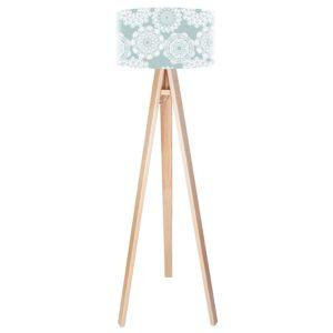 Maco Design Romantická stojací lampa Tilda v jemných barvách