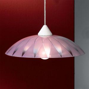 Orion Dekorativní závěsné světlo Marelli fialové