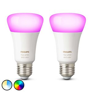 Philips HUE Philips Hue White & Color Ambiance 9W E27, 2ks