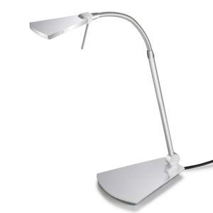Pujol Ušlechtilá LED stolní lampa Nec, nikl