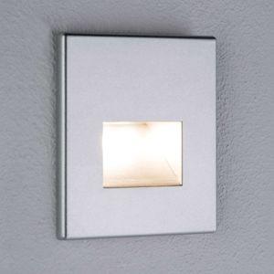Paulmann Paulmann LED nástěnné vestavné svítidlo Edge chrom