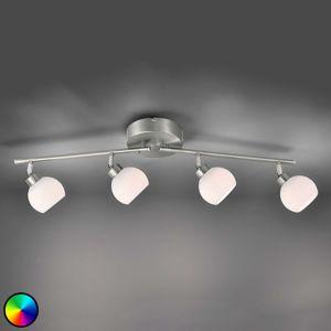 Lindby LED svítidlo Yaeka se 4zdroji, ovladač