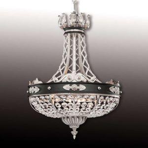RIPERLamP Nádherné křišťálové závěsné světlo Henry