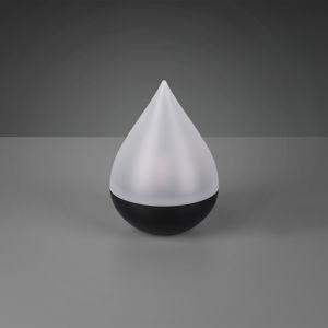 Reality Leuchten LED solární stolní lampa Caldera s efektem plamene