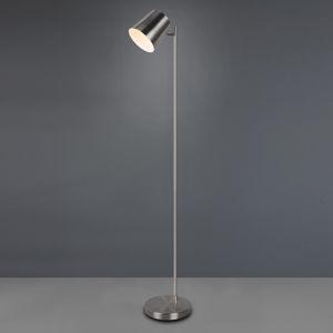 Reality Leuchten LED stojací lampa Blake s baterií, stmívací, nikl
