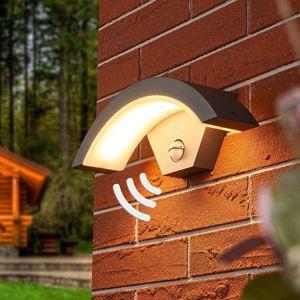 Lucande Venkovní nástěnné LED svítidlo Jule se senzorem