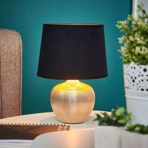 Lindby Černo-zlatá stolní lampa Thorina
