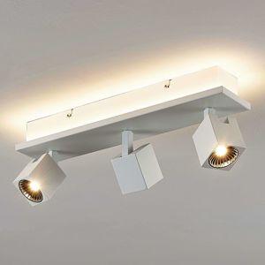 Lampenwelt.com Stropní LED svítidlo Taly, 3bílé reflektory