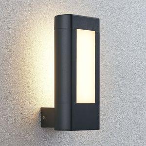 Lampenwelt.com Venkovní nástěnné LED svítidlo Mhairi, rohové