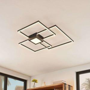 Lindby Lindby Duetto LED stropní svítidlo antracit 38W