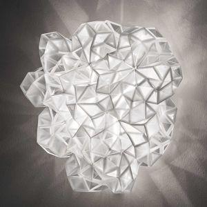 Slamp Slamp Drusa - designové stropní světlo, bílé