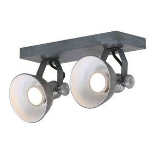 Steinhauer BV LED stropní bodové osvětlení Brooklyn 2zdr, šedé