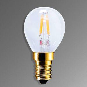 Segula E14 2,2W 922 LED žárovka vzhled uhlíkové vlákno
