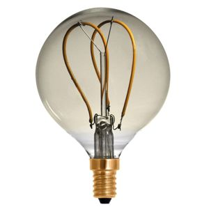 Segula E14 4W 922 LED Globe Filament G80 Curved Line