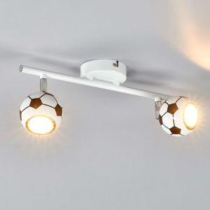 Spot-Light LED stropní svítidlo Play, 2 žárovky fotbalový míč