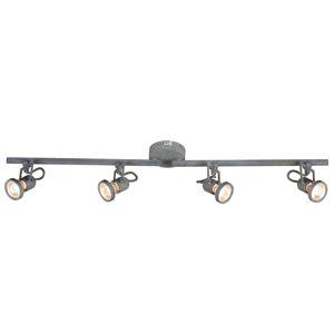 Spot-Light LED stropní svítidlo Concreto, zarovnatelné, 4zdr