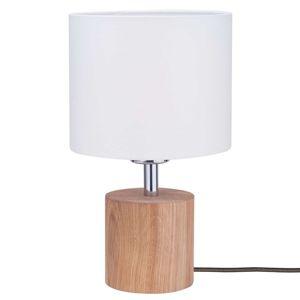 Spot-Light Stolní lampa Trongo válec olejovaný stínidlo
