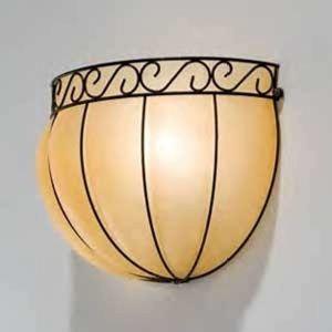Siru Půlkulaté nástěnné světlo CORONA, 34 cm