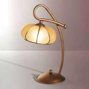 Siru Klasická stolní lampa LOTO, ručně vyrobená
