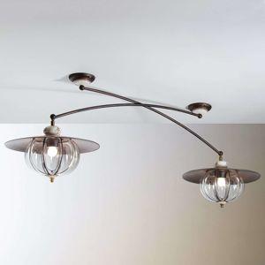 Siru Dvouzdrojové stropní světlo Lampara venkovský styl