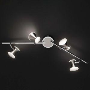 Trio Lighting Duke - flexibilní stropní LED světlo, 4 žárovky