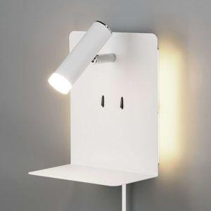 Trio Lighting Nástěnné LED světlo Element s policí bílý mat